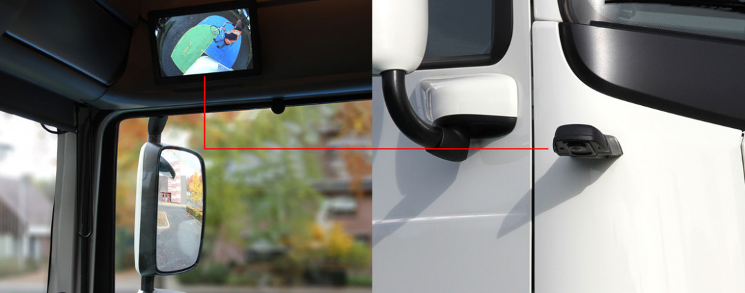 CornerEye®: Truck Blind Spots Made Visible Thanks to a 270