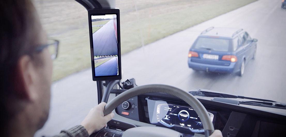 Mirroreye Makes Mirrorless Trucks Possible