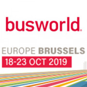 October 18 to 23, Busworld 2019, Brussels (BE), Stand 428 Hall 4