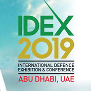 February 17 to 21, IDEX 2019, Abu Dhabi (AE), Stand 07-A01