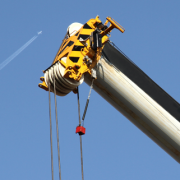 Loadview system essential on telescopic cranes of crane owner Kuiphuis