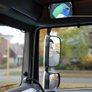 Innovation makes front and kerb mirrors redundant