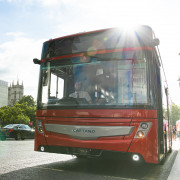 More than 10 buses featuring MirrorEye™ at Busworld Europe