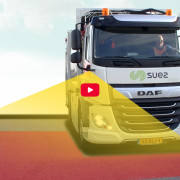Better visibility and increased Safety for SUEZ Trucks